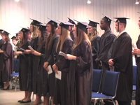 Commencement Highlights, 2011: Trinity Greenlawn