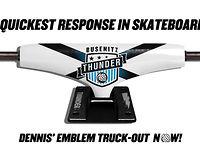 Thunder Dennis Busenitz Emblem Light Truck