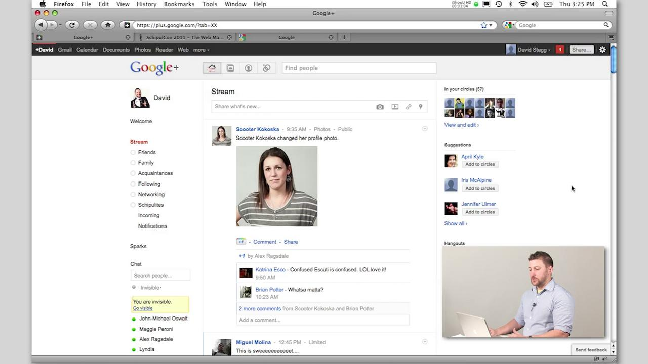 Google + Overview