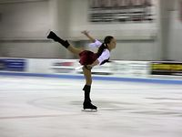 Anna Skates to Pirates at Hagerstown