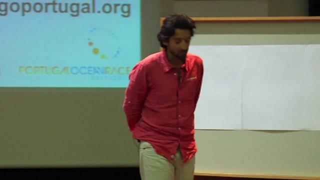A talk by Portuguese sailor &amp; entrepreneur, Ricardo Diniz on attitude change and fighting for your future