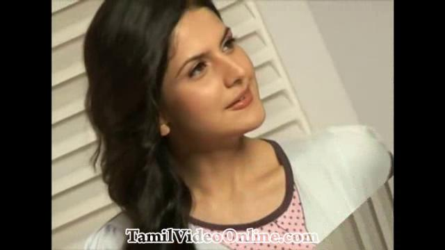 Zarine Khan Hot Photo Shoot Making