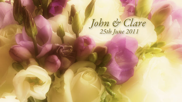 John &amp; Clare&#039;s Wedding