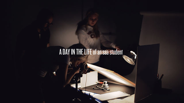 A Day in the Life of an SAA Student