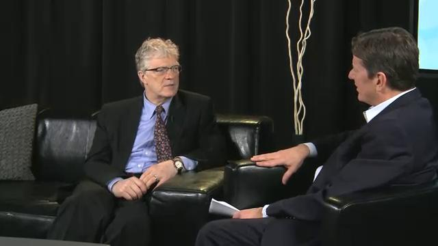 Backstage with Sir Ken Robinson