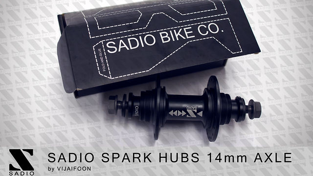 SADIO SPARK HUBS 14mm AXLE