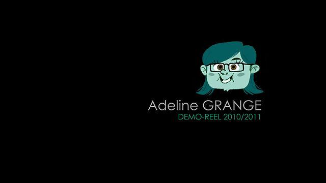 Adeline Grange - Demoreel 2011