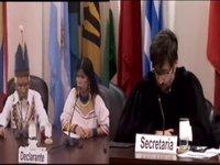 Los kichwas de Sarayaku defienden su dignidad ante la CIDH