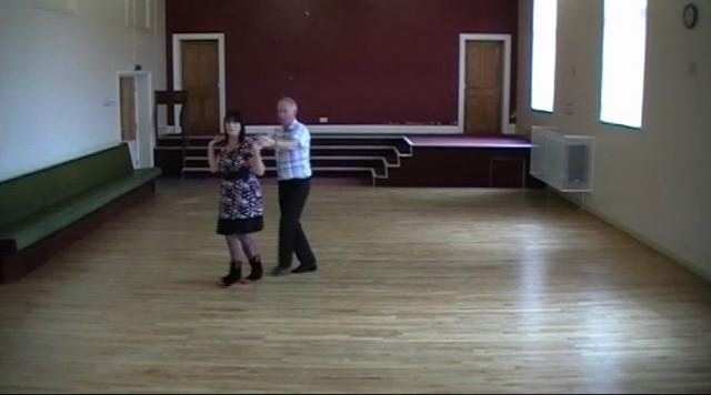 NIGHT OWL SCUFFLE  ( Western Partner Dance )