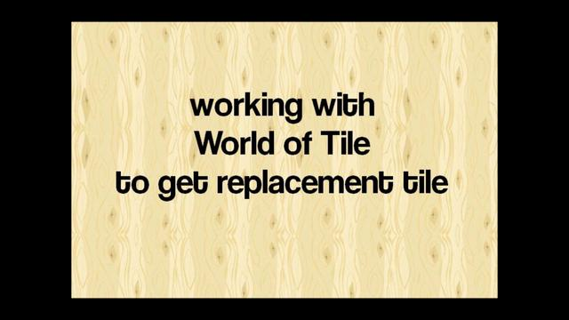 Replacement vintage bathroom and kitchen tile at world of tile on vimeo for Old bathroom tile replacement