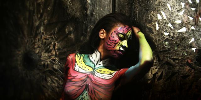 Body Painting by Jennifer Montgomery - Model: Arielle Johnson