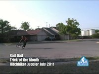 Trick of the Month-Hitchhiker Juggler