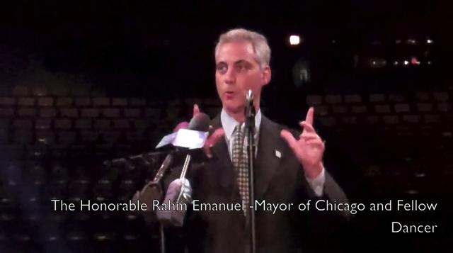 A Dance Minute with The Mayor of Chicago