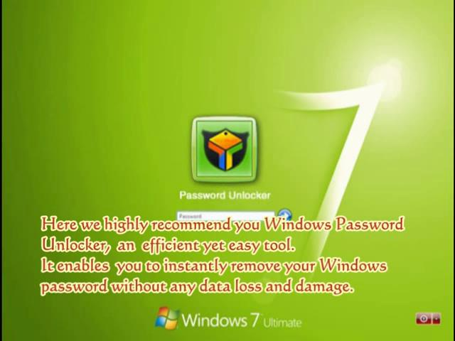 Do Your Windows 7 Password Reset Quickly