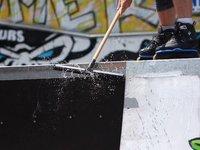 Evènement WRS (World Rolling Series) organisé par le club de roller C.R.A.S.H, sur le skate park de gap