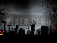 Halloween Graveyard c