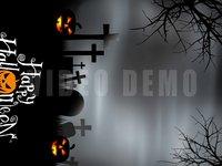 Halloween Graveyard Vertical d