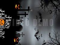 Halloween Graveyard Vertical e