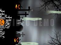 Halloween Graveyard Vertical f