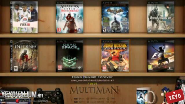 descargar multiman para ps3 gratis