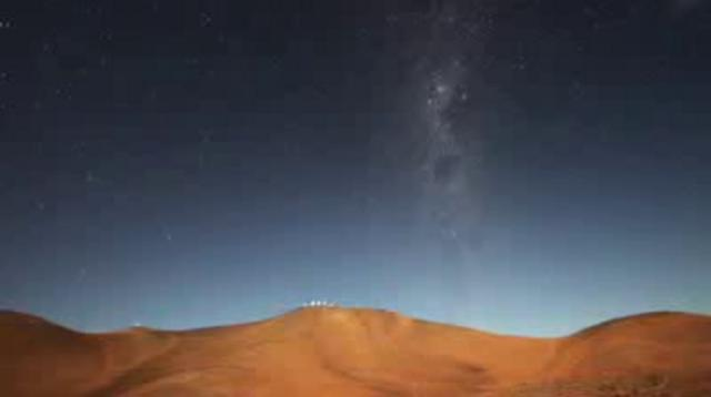 VLT (Very Large Telescope) HD Timelapse Footage