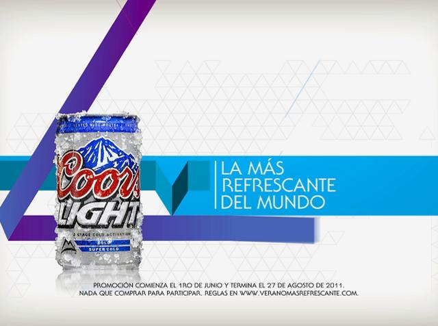 "Coors Light ""Móntala"""