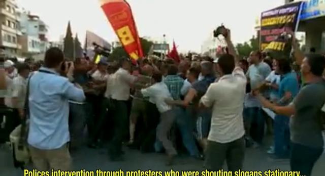 Police Violence in North Cyprus / Kuzey Kıbrıs'ta Polis Şiddeti