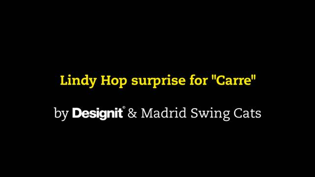 Thumbnail of video Designit & Madrid Swing Cats lindy hop ambush