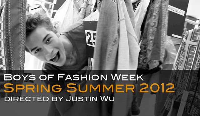 "Video | ""Boys of Fashion Week SS/2012″"