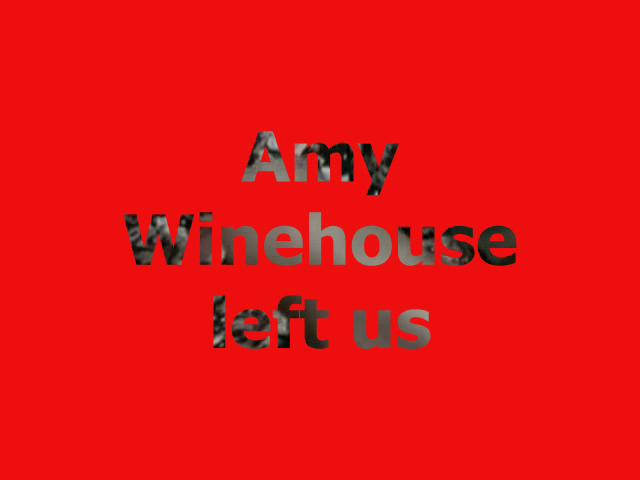 Amy Winehouse dead at 27 years Amy Winehouse