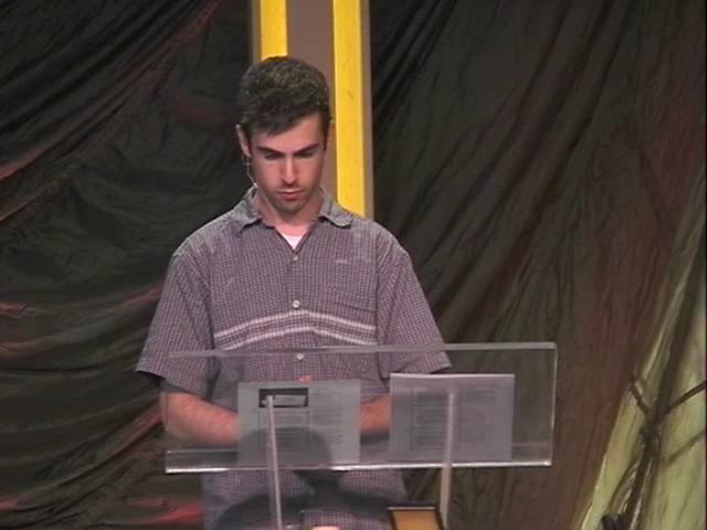 Matthew 6:16-18 - Fasting Without Hypocrisy on Vimeo