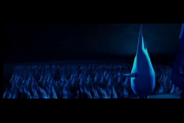 Las llamas de Gasco hacen una asamblea ante a la llegada del invierno, y se arengan a trabajar arduamente para combatirlo.