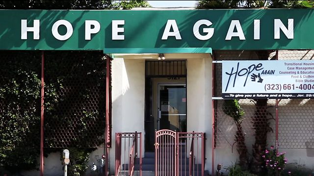 Hope Again's main office on Sunset Blvd. [photo taken from Google images]