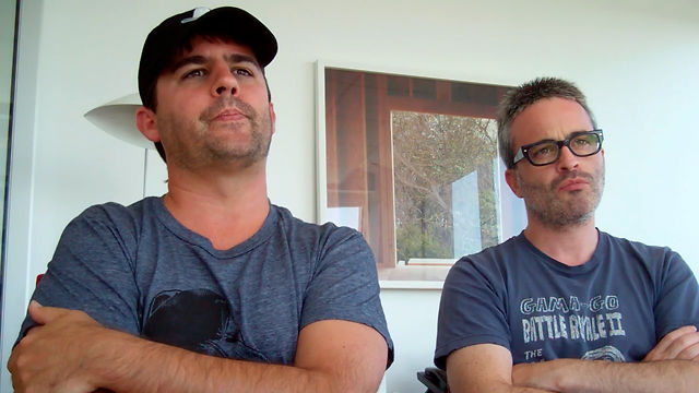 Roberto Orci/Alex Kurtzman Cowboys &amp; Aliens Interview