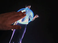 Watchmen, Interactive Multi Touch Hologram