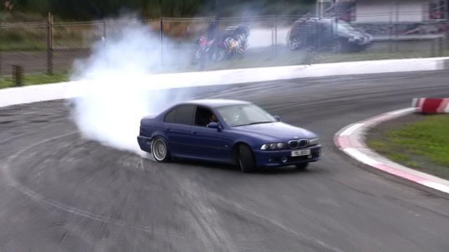 Team Driftoholic Promo 2011 E34 525i Helga Amp E39 M5 Drift On Vimeo