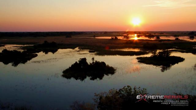 Octocopter in Africa - Extreme Aerials - Okavango Delta
