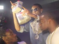 Soulja Boy f�te ses 21 ans au Club Play ()