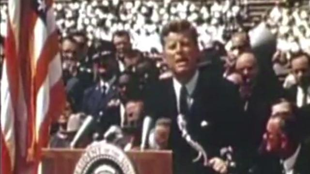We Choose to Go to the Moon - JFK Space Race