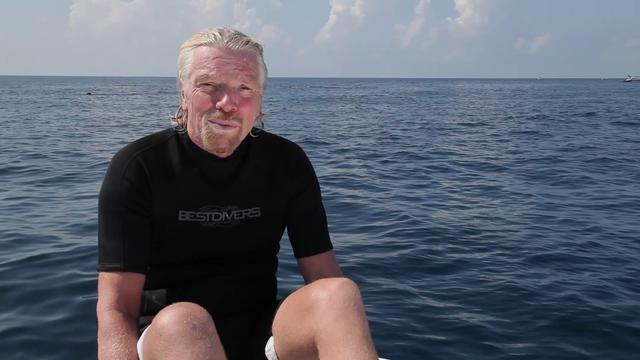 Richard Branson - WildAid Whale Sharks - 2011