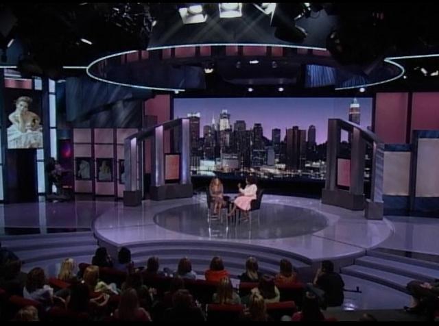 Oprah Winfrey Show Set GraphicsOprah Winfrey Show Set
