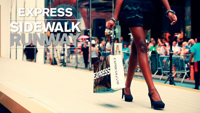 Express Sidewalk Runway
