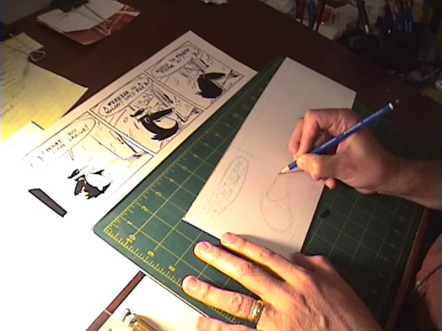 How To Draw A Pencil Comics