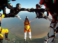 Skydiving at Parasummer 3D