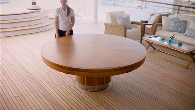 3 baton rouge table 2 5 metres on vimeo. Black Bedroom Furniture Sets. Home Design Ideas