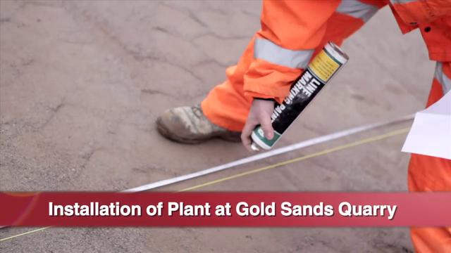 Finlay Group - APS installation at Goldsands Quarry