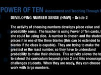 DEVELOPING NUMBER SENSE GR2 HMW (Part 1)