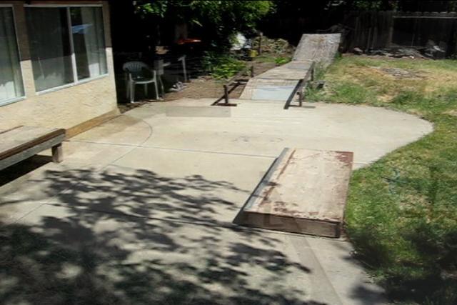 Backyard Skatepark Bmx : My Backyard Skatepark on Vimeo