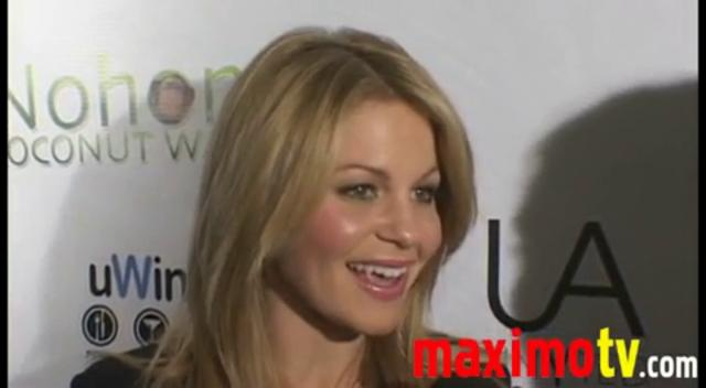 Candace Cameron Bure Interview at the UnYted Launch Party