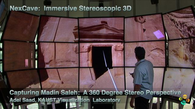 Capturing Madin Saleh: A 360 degree Stereo Perspective